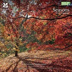 National Trust Seasons 2022 Wall Calendar