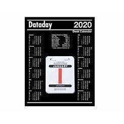Dataday Desk Block Daily Calendar 2020