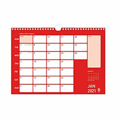 Collins A3 Memo Calendar 2021