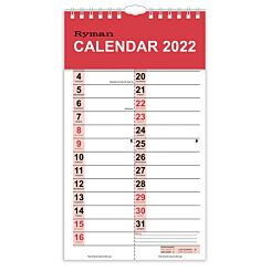 Ryman Tablet Month to View Calendar 2022