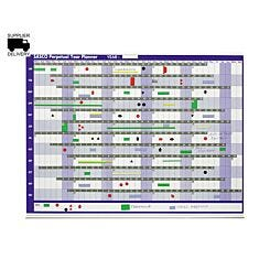 Sasco Perpetual Magnetic Year Planner Everlasting 855x630mm
