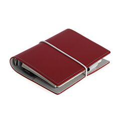 Filofax Domino Organiser Pocket Red