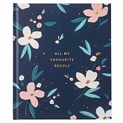 Busy B Pretty Petals Large Address Book