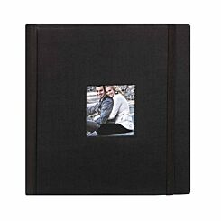 Aztec Memo Photo Album 6x4 Inch Black