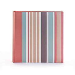 Candy Memo Photo Album Stripes 6x4 Inch