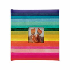 Rainbow Memo Photo Album 6x4 Inch