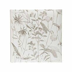 Wildflower Memo Photo Album 6x4 Inch White