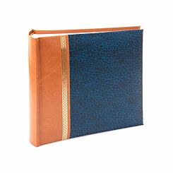 Grace Memo Photo Album 6x4 Inch Blue
