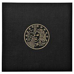 Exacompta Coin Collector Binder Black