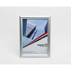 Innova Snap Frame 297x210mm A4 Brushed Aluminium Wall Hanging