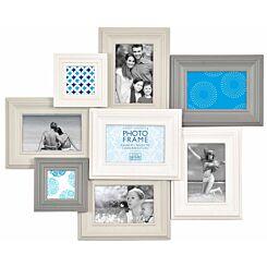 Innova Madeira VI MDF Frame White and Grey Multi Opening