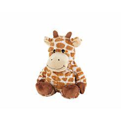Warmies Fur Giraffe Microwaveable Toy