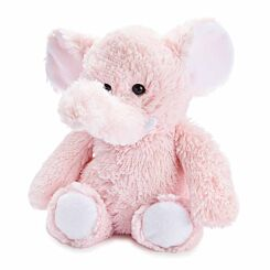 Warmies Pink Fur Elephant Microwaveable Toy