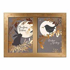 Almanac Moonlit Luxury Christmas Cards Box of 12
