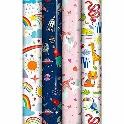Kids Gift Wrap Assorted 3 Metres