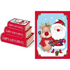 Cute Book Boxes Set of 3