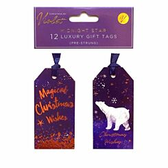 Midnight Star Gift Tags 12 Pack