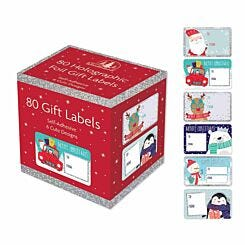 Christmas Gift Labels 80 Pack