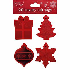 Luxury Christmas Gift Tags 20 Pack