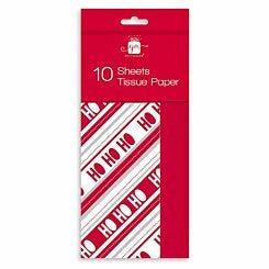 Christmas Tissue Paper 10 Sheets