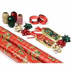 Nostalgic Christmas Gift Wrap Bundle