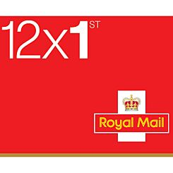 1st Class Postage Stamps Book of 12 *Conditions Apply