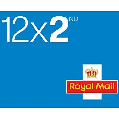 2nd Class Postage Stamps Book of 12 *Conditions Apply