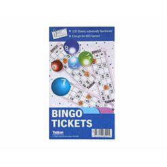 Tallon Bingo Book 600 Tickets