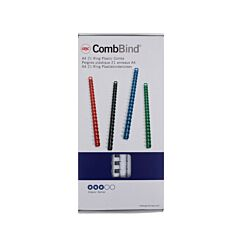 GBC Comb Bindings 12.5mm BX100 White