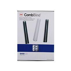 GBC Comb Bindings 16mm BX 100 A4 White