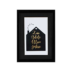 Ryman Personalised Mounted Frame Home Sweet Home
