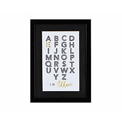 Ryman Personalised Mounted Frame Alphabet Initial