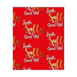 Ryman Personalised Wrapping Paper Good Girl 1 Metre x 1 Metre