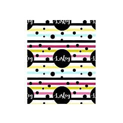 Ryman Personalised Wrapping Paper Spots and Stripes 1 Metre x 1 Metre