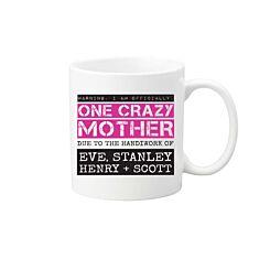 Ryman Personalised Crazy Mother Mug