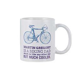 Ryman Personalised Biking Dad Mug