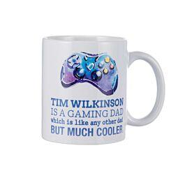 Ryman Personalised Gamer Dad Mug