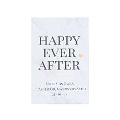 Ryman Personalised Happy Ever After Print