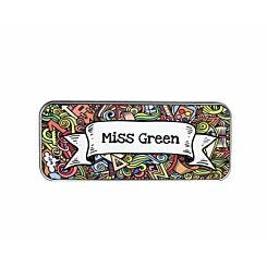 Ryman Personalised Doodle Collage Name Pencil Tin
