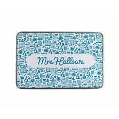 Ryman Personalised Favourite Subjects Name Pencil Tin Large