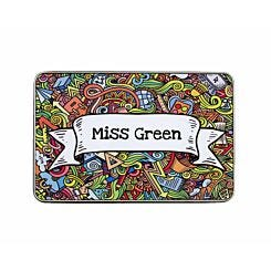 Ryman Personalised Doodle Collage Name Pencil Tin Large