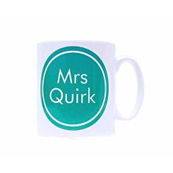 Ryman Personalised Teacher Voice Name Mug