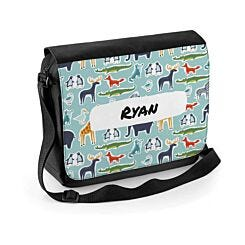 Ryman Personalised Zoo Animals Shoulder Bag