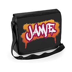 Ryman Personalised Graffiti Shoulder Bag