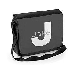 Ryman Personalised Slate Initial Shoulder Bag