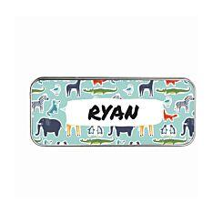 Ryman Personalised Zoo Animals Pencil Tin