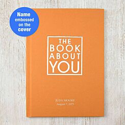 Personalised Book About You Orange