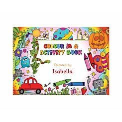 Personalised A4 Colouring and Activity Book