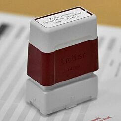Brother Personalised Stamp 14mmx38mm Red