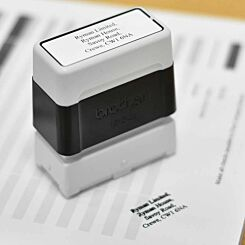 Brother Personalised Stamp 18mmx50mm Black